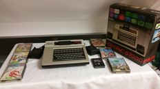 Complete Videopac G7000 with original packaging and 7 great games.
