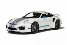 GT-Spirit - Schaal 1-18 - Porsche 911 (991) Turbo S Tech Art - Kleur: Wit