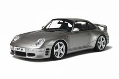 GT-Spirit - Scale 1/18 - Porsche RUF CTR 2 1996 - Colour: Silver Metallic