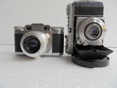 Lot of Kodak Eastman Retina 1a and Braun Paxette Prontor- SVS