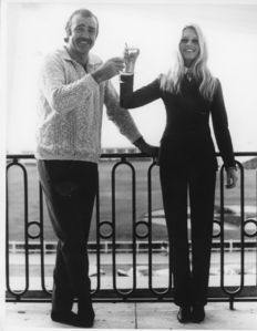 Unknown - Upi Photo - Brigitte Bardot & Sean Connery - 1967