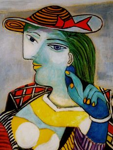 Pablo Picasso (after) - Portrait of Marie Therese Walter