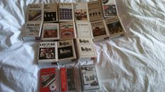 The Beatles - very rare collection of 15 cassette tapes (digital remastered) from Mexico - in mint condition ! + 2 from United Arab Emirates + 1 from Holland