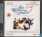 DVD / Video / Blu-ray - VCD video CD - Four Weddings and a Funeral
