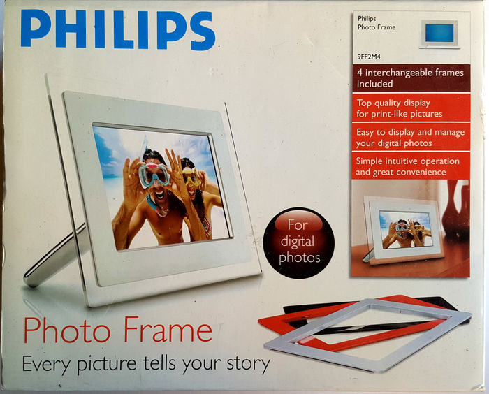 Philips Digital Photo Frame 9 9ff2m4 Catawiki