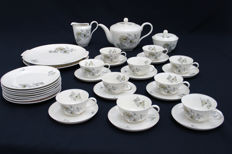 Rosentha - Tea set, model Helena, designed by Wolfgang von Wersin