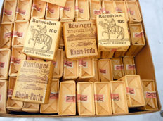 Box with 100 packs of tobacco Germany WWII