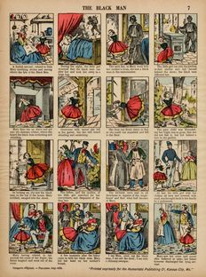 Catchpenny prints; Pellerin - Lot with 43 antique catchpenny prints - 1880