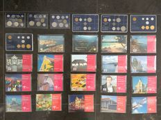 Dutch Antillen - year sets 1979/2020 (26 different).