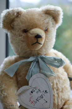 Antique bear with character