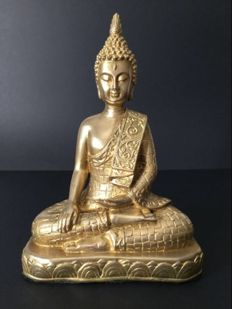 Gilt-copper Shakyamuni Buddha – Early 21st century