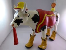 Cow Parade Udder Cowstruction 40524 large with original box and certificate