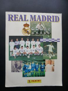 Panini - Real Madrid - Complete album (1902-1994) - In magnificent condition - Including original order form
