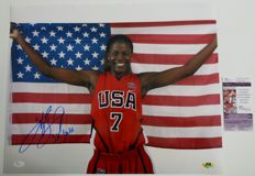 Sheryl Swoopes - Great signed photo - Legend of the American women's Basketball - COA JSA - HOF 2016