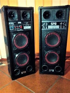 Amplified speakers-SPB-Multimedia audio center