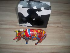 Kathy Kenton voor CowParade  - Psycowdelicowwow - medium dunne poten - Retired