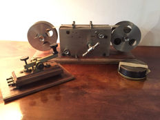 Antique auto telegraph transmitter