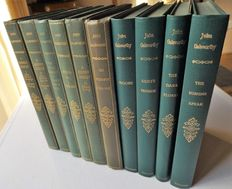 John Galsworthy - A Collection of Ten Volumes - 1927/1950.