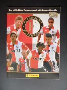 Panini - Feijenoord 2008-2009 - Complete album - In new condition.