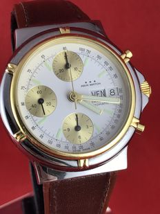 Agir Watch – Chronograph with day and date.