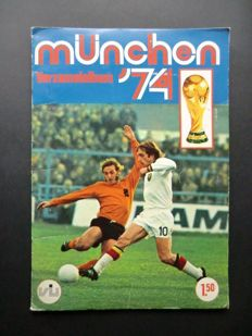 Variant of Panini - VanderHout - München 74 (FKS) - Complete album - in very good condition.
