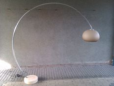 Unknown designer – arc lamp, extendable, with a marble foot