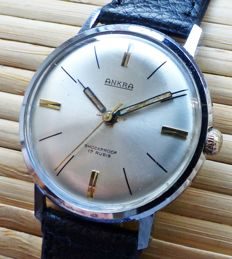 ANKRA 17 Rubies -- men's wristwatch from the 1960s