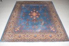 Excellent oriental carpet, Qhum – 20th century, around 1950 - approx. 205 x 175 cm - no reserve, €1