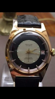 Revlon Classic – Men's wristwatch – 1960s – Swiss made.