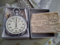 Agat Chronometer – stopwatch made in the USSR in the 1990s.