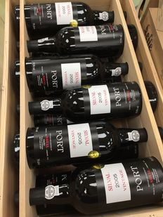"2005 Quinta do Noval ""Silval"" Vintage Port  - 12 x Bottles in Orignal Wood Boxes"