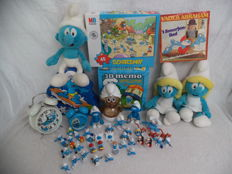 47x Peyo Smurfen items