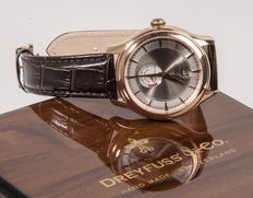 DREYFUSS & Co – DGS00113/06 – Réserve de Marche – Limited edition – Automatic men's wristwatch – New.