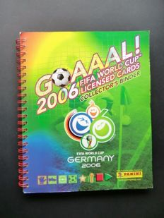 Panini-Goaaal 2006 + Estrellas Europeas 1996 - 2 complete sets in Panini ring binder - In wonderful condition.