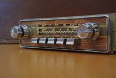 Philips N5X14T classic car radio from 1960