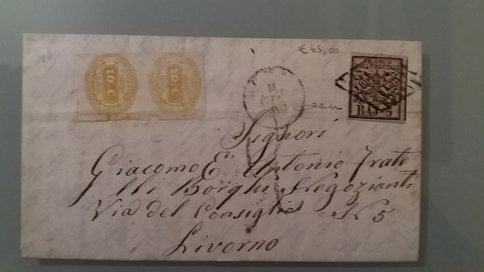 Italy   Old States   Papal States   7 letter lot   Catawiki