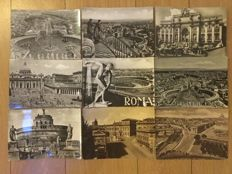 Italy 165 postcards 1920-1960