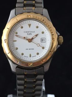 "Certina DS Trionyx 200 Metres ""Turtle Back"" – women's diver's watch - 1990s-2000s."