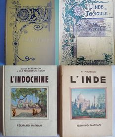 Lot with 5 books in French concerning the British Indies and Indo-China - 1898/1939