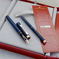 Boxed Sheaffer Targa Mondrian Limited Edition Fountain Pen & Ballpoint Pen | New Old Stock