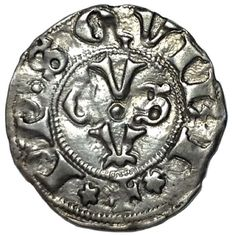 Italian Middle Ages - Ancona, Republic cent. XIII-XV - AR Bolognino (18 mm; 1,08 g.) - Large gothic A / ACVS - CNI 69