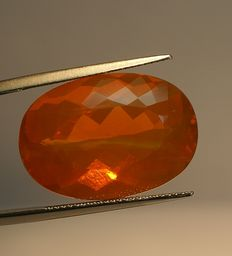 Fire Opal , orange  18,89ct