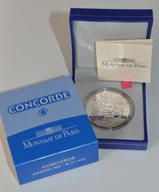 "France – 10 Euro 2009 ""40th anniversary of the Concorde"" silver"