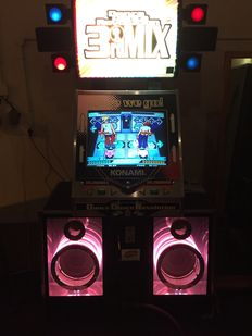 DDR dancing machine 3rd mix by Konami