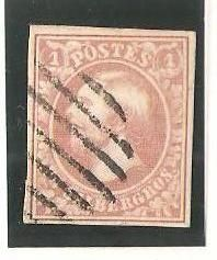 Luxembourg 1855 - 1 silbergros pale mear colour with horizontal moved part - Soluphil 2g - signed