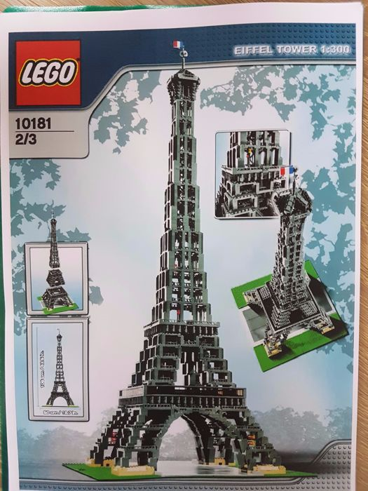 Sculptures - 10181 - Eiffel Tower 1:300 Scale