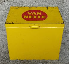 Van Nelle large shop display tin - Netherlands - mid 20th century.