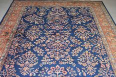 Fabulous oriental Sarough rug, hand-knotted – 325 x 203 cm, around 1970