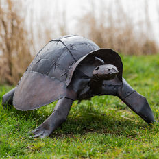 Beautiful metal turtle
