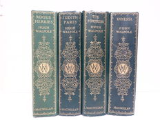 Hugh Walpole - The Herries Chronicles - 4 volumes - 1930 / 1933